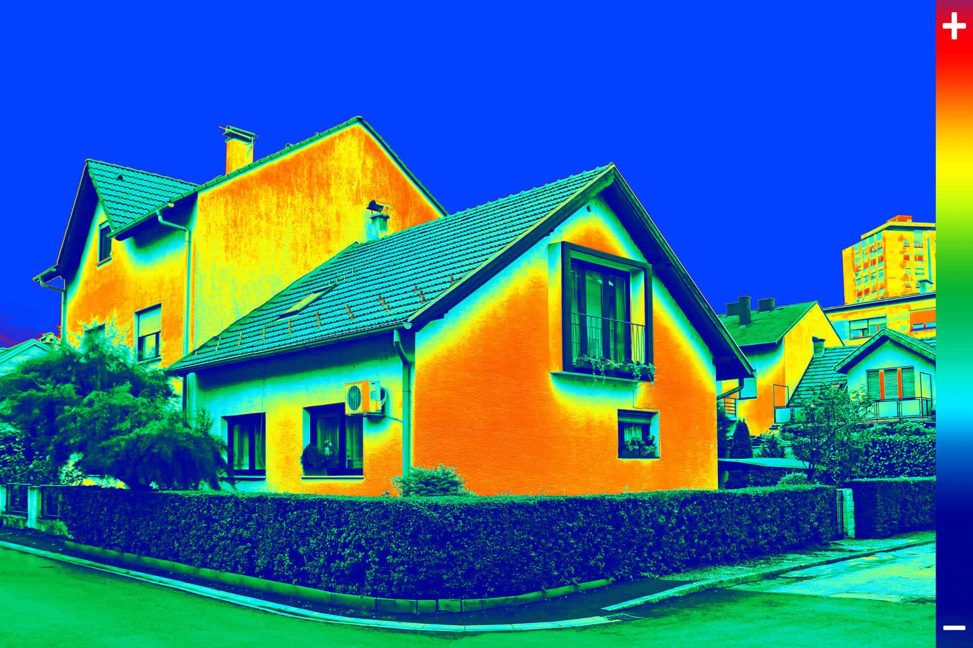 Infrared thermal imaging home inspections advanced for Advanced home
