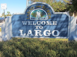 Largo Home Inspections, Welcome sign stating Welcome to Largo